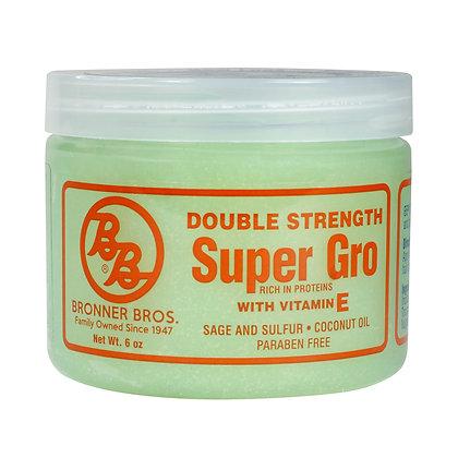 Bronner Bros Super Gro Double Strength with Vitamin E 6oz