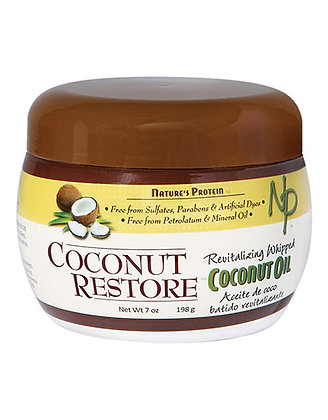 Nature's Protein Coconut Restore Revitralizing Whipped Coconut Oil 7oz