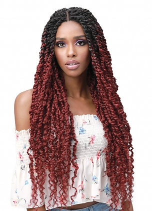 Bobbi Boss MLF517 SPRING TWIST 28 Synthetic Lace Front Wig