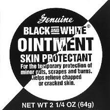 Black and White Ointment 2.25oz