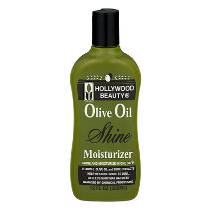Hollywood Beauty Olive Oil Shine Moisturizer 12oz