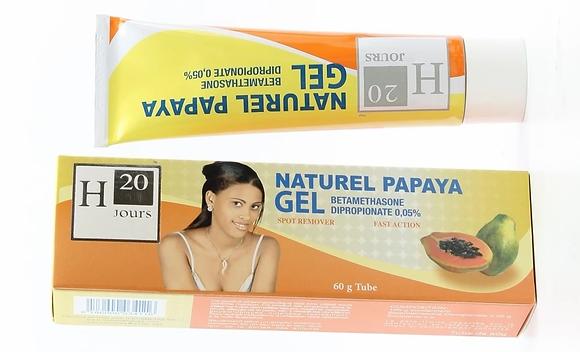 H20 JOURS Natural Papaya Gel 60g