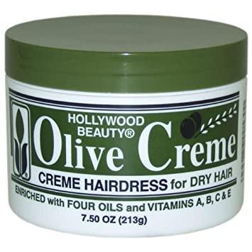 Hollywood Beauty Olive Creme 7.5oz