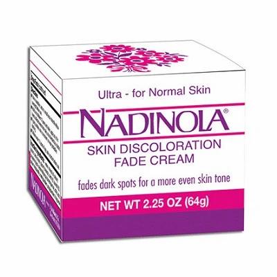 Nadinola Fade Cream Normal Ultra 2.25oz