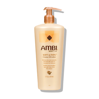 Ambi Soft & Even Oil Lotion 12oz