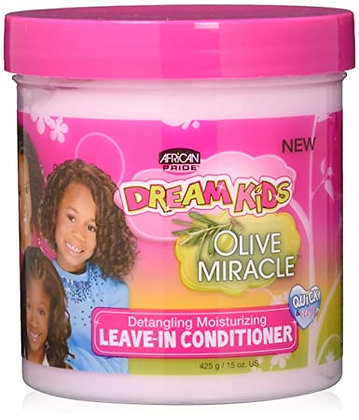 African Pride Dream Kids Olive Miracle Leave-In Conditioner 15oz