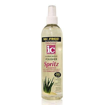 Fantasia IC Hair Polisher Super Hold Spritz 12oz