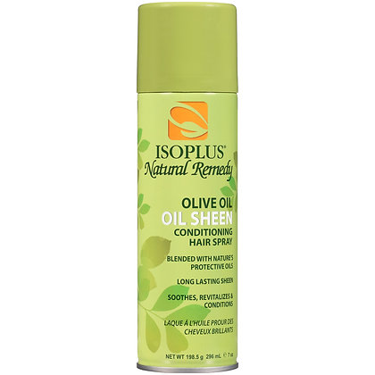 Isoplus Natural Remedy Olive Oil Oil Sheen Spray