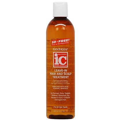 Fantasia IC Leave-In Hair & Scalp Treatment 12oz