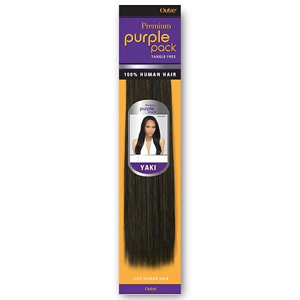 Outre Premium Purple Pack Yaki 100%Human Hair Weave
