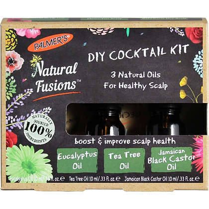 Palmer's Natural Fusions Eucalyptus, Tea Tree & Black Castor Oils Cocktail Kit