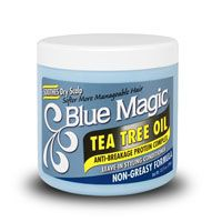 Blue Magic Tea Tree Oil Leave-In Styling Conditioner 12oz