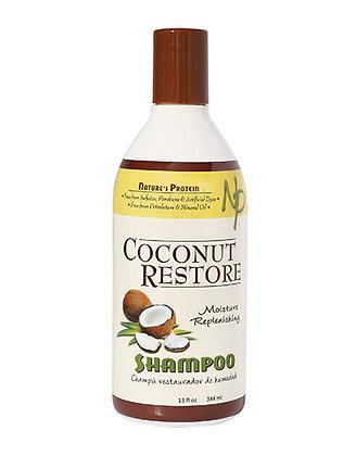 Nature's Protein Coconut Restore Moisture Replenishing Shampoo 13oz