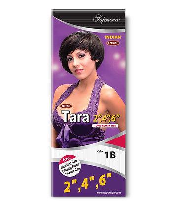 "Soprano Remi Indian Tara 2""4""6"" Human Hair Weave"