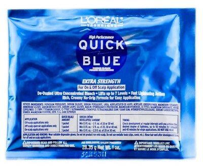 Loreal Quick Blue Powder Lightener 1oz