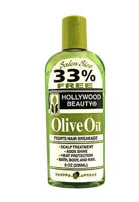 Hollywood Beauty Olive Oil 8oz