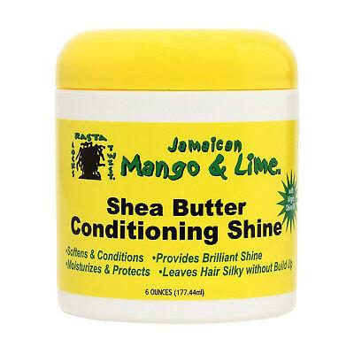 Jamaican Mango & Lime Shea Butter Conditioning Shine 6oz