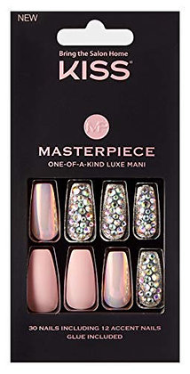 Kiss Masterpiece One-Of-A-Kind Luxe Mani KMN02