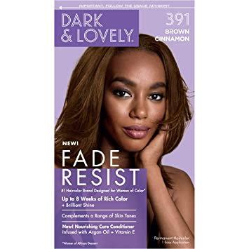 Dark & Lovely Fade Resist Hair Color Permanent