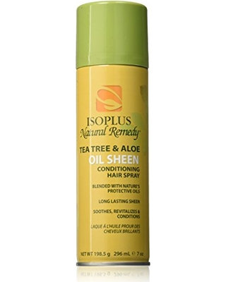 Isoplus Natural Remedy Tea Tree & Aloe Oil Sheen Spray