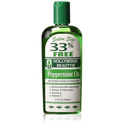 Hollywood Beauty Peppermint Oil 8oz
