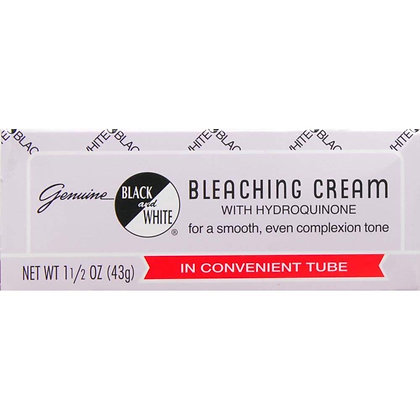 Black and White Bleaching Cream 1.5oz