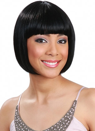 Bobbi Boss MB400 ZIVA Human Hair Blend Regular Wig