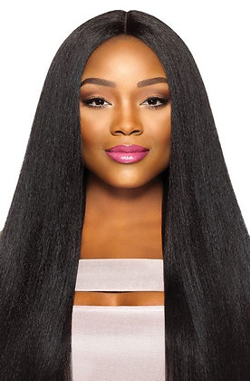 "Outre Purple Pack Virgin Volume Pressed 18""20""22"" Human Hair Blend Weave"