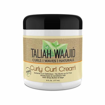 Taliah Waajid Black Earth Curly Curl Cream 6oz