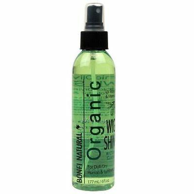 Bonfi Natural Organic Olive Oil Wig Shine Spray 6oz