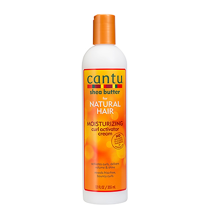 Cantu Shea Butter for Natural Hair Moisturizing Curl Activator Cream 12oz