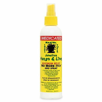 Jamaican Mango & Lime Maximum Relief No More Itch Gro Spray 8oz