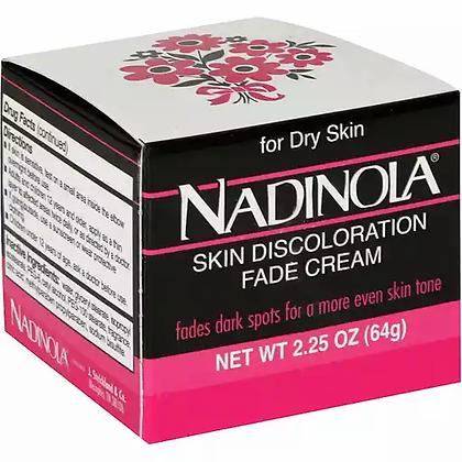 Nadinola Fade Cream Dry Original 2.25oz