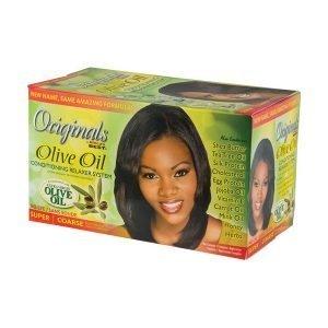 Africa's Best Originals Olive Oil Relaxer Kit Super