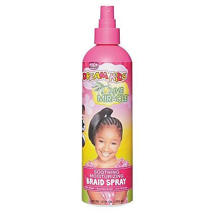 African Pride Dream Kids Olive Miracle Soothing Moisturizing Braid Spray 12oz