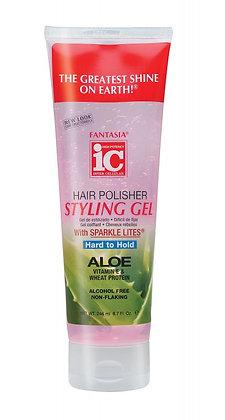Fantasia IC Hard to Hold Hair Polisher Styling Gel 8.7oz