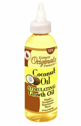 Ultimate Originals Stimulating Growth Oil Coconut Oil 4oz