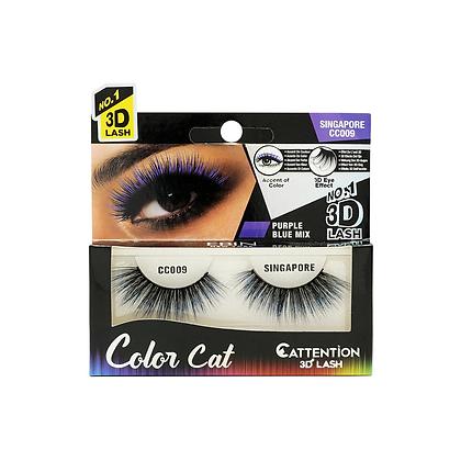 Ebin 3D Effect Eye Lashes Color Cat