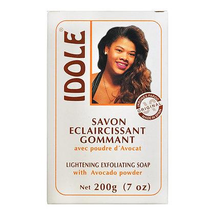 Idole Lightening Exfoliating Soap with Avocado Powder 7oz