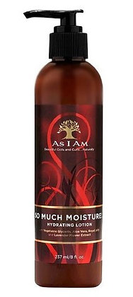 As I Am So Much Moisture Hydrating Lotion 8oz