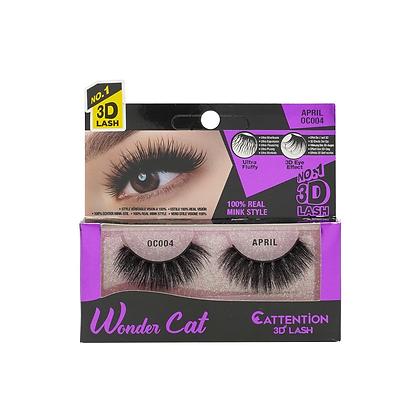 Ebin 3D Effect Eye Lashes Wonder Cat