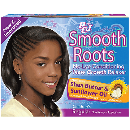 Luster's Pink PCJ Smooth Roots No-Lye Relaxer Kit Children's Regular