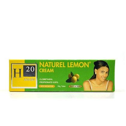 H20 JOURS Natural Lemon Cream 50g