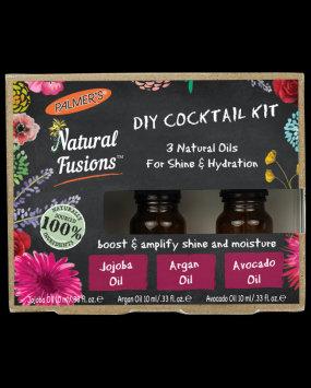 Palmer's Natural Fusions Jojoba, Argan & Avocado 0.33oz Oils Cocktail Kit