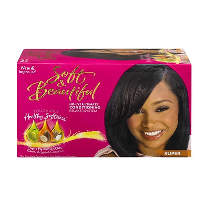 Soft & Beautiful No-Lye Conditioning Relaxer Super