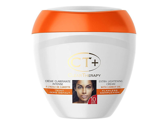 CT+ Clear Therapy Extra Lightening Cream with Carrot Oil 400ml