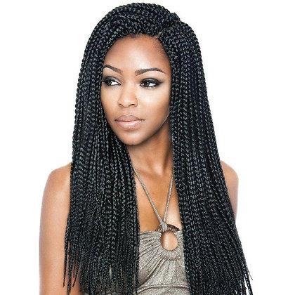 "Afri-Naptural Crochet Loop Box Braid 18"""