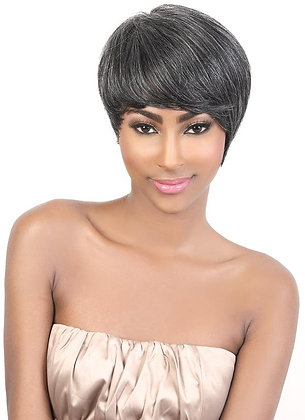 Motown Tress H WISH Human Hair Regular Wig