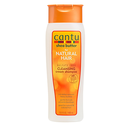 Cantu Shea Butter for Natural Hair Sulfate-Free Cleansing Cream Shampoo 13.5oz