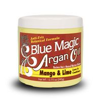 Blue Magic Argan Oil Mango & Lime Leave-In Conditioner 13.75oz